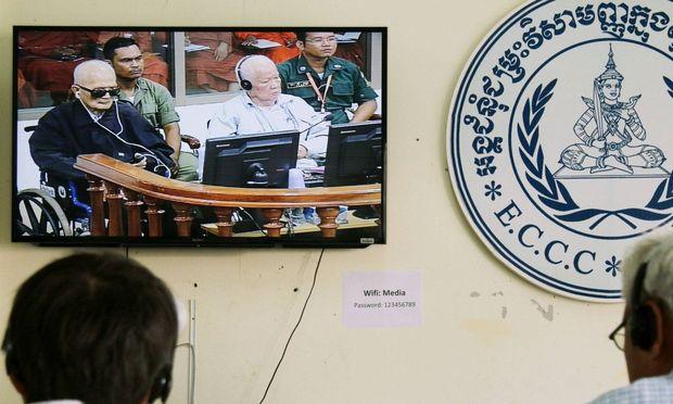 Es war Völkermord:Gericht verurteilt Rote-Khmer-Anführer