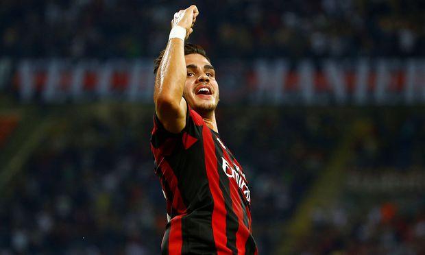 Milans Andre Silva in den Europa-League-Playoffs