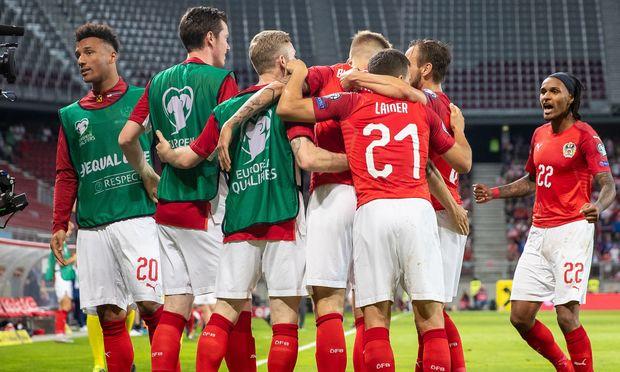 FUSSBALL: UEFA EM QUALIFIKATION / OeSTERREICH - SLOWENIEN
