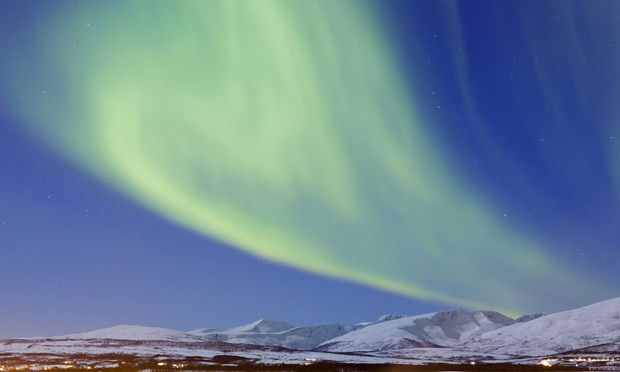Symbolbild Norwegen/Nordlicht.