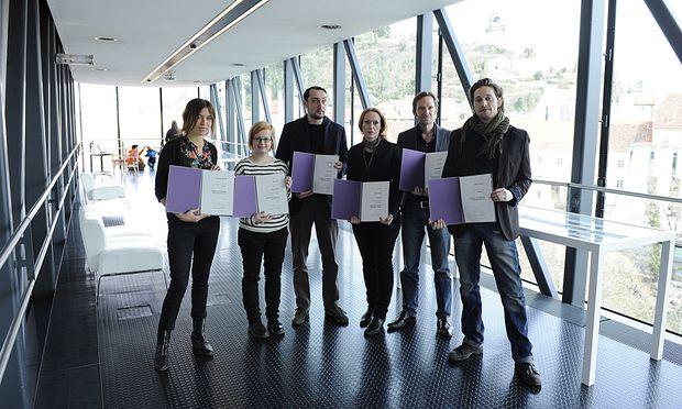 Preisträger der Drehbuchpreise.
