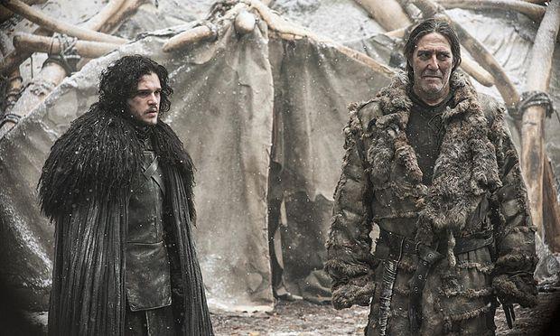 Jon Snow und Mance Rayder / Bild: (c) HBO