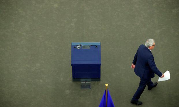 Jean-Claude Juncker präsentierte im Europaparlament seine Pläne für die Zukunft der EU.