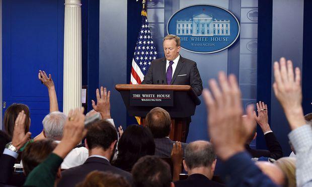 Trump-Sprecher Sean Spicer tritt offenbar zurück