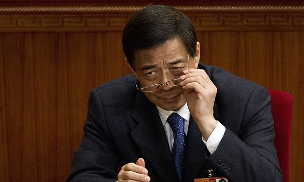 Das frühere Politbüromitglied Bo Xilai
