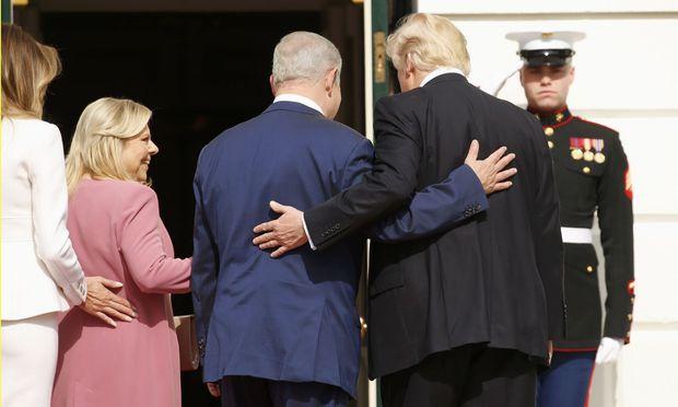 Benjamin Netanjahu kam in Washington in den Genuss einer speziellen VIP-Behandlung, samt Abendessen im Außenministerium und Übernachtung im Blair House.