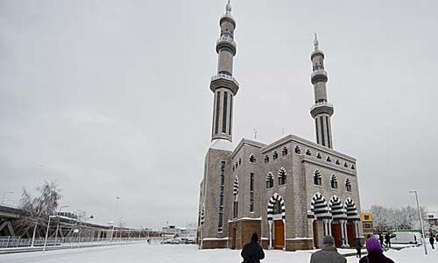 Rotterdam Groesste Moschee Europas