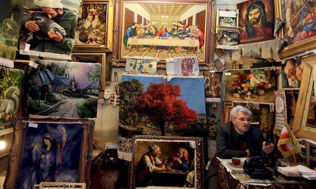 Symbolbild iranisches Geschäft