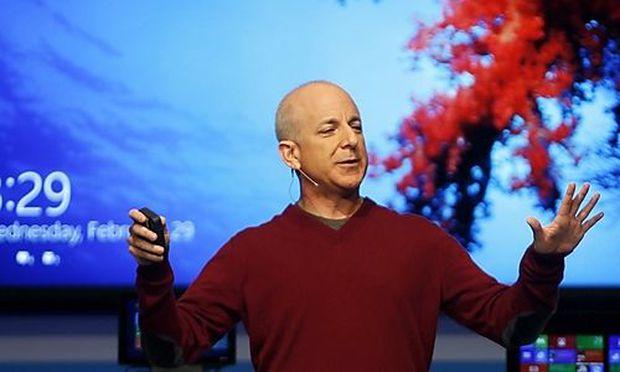 Windows-Spartenchef Steven Sinofsy stellt Windows 8 vor