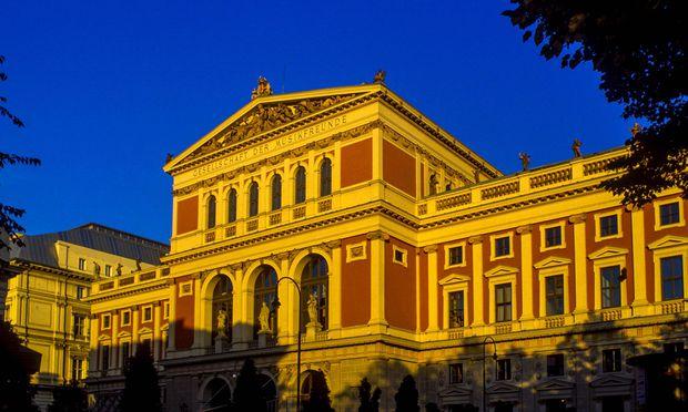 Gebäude des Wiener Musikvereins.
