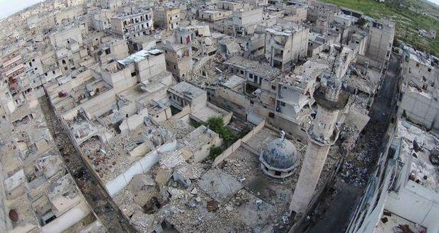 Aleppo ist eine bewohnte Ruine.