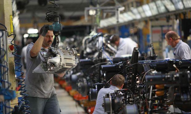 1,26 Millionen Motoren wurden vergangenes Jahr in Steyr hergestellt.