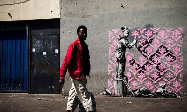 Banksy am