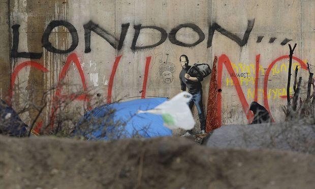 Aufregung um mögliche Banksy-Graffiti in Paris