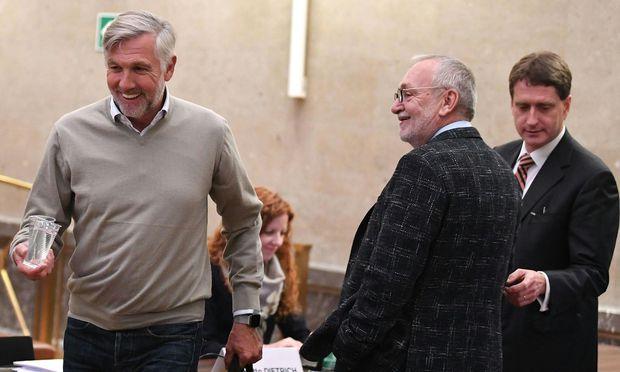 Fischer und Hochegger erzählten offen über Zahlungen an Politiker von ÖVP, FPÖ und SPÖ.