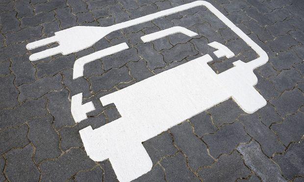 Aufladestation fuer Elektroautos