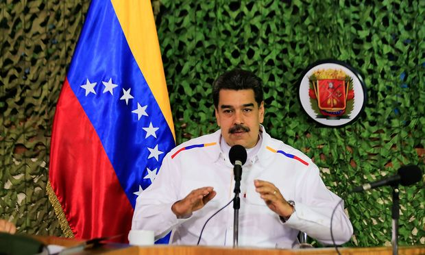Nicolas Maduro ist den USA ein Dorn im Auge.