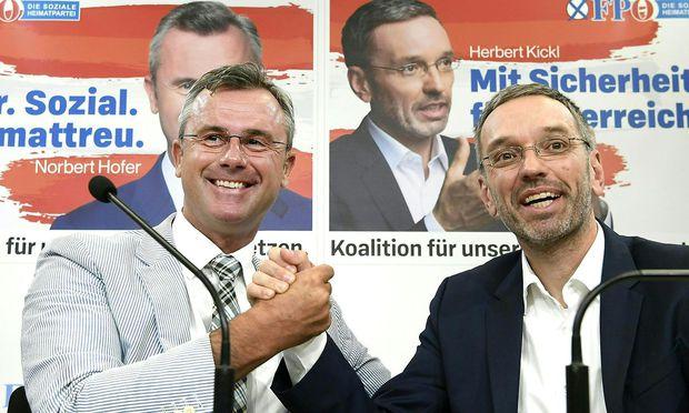 Hofer; Kickl