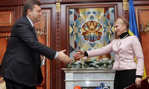 Timoschenko Janukowitsch