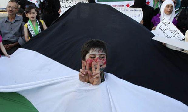 Proteste gegen die syrische Führung