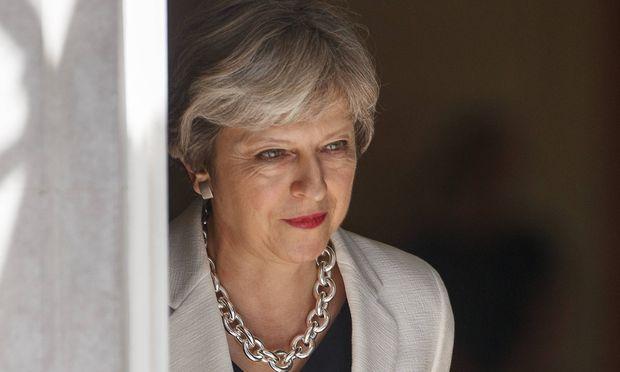 Theresa May.  / Bild: (c) imago/ZUMA Press (Tolga Akmen)