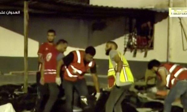 Libyen: Viele Tote bei Luftangriff auf Flüchtlingslager