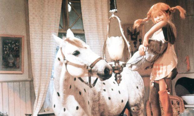 Pippi Langstrumpf ´Pippi zieht in die Villa Kunterbunt ´