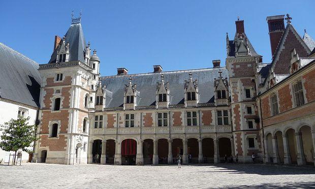 Schloss Blois, eines der berühmten Loireschlösser