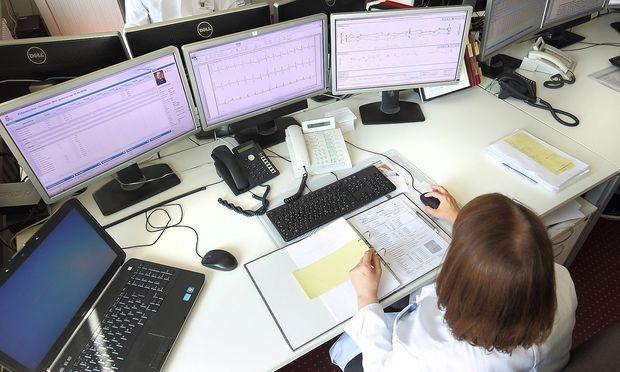 Zentrum fuer kardiovaskulaere Telemedizin der Charite in Berlin Foto vom 24 05 2017 Das Zentrum f