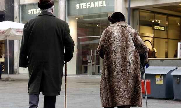 Pensionisten in Wien
