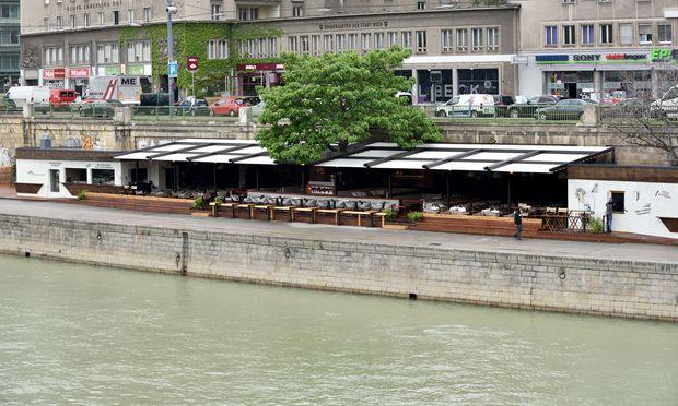 Neues Lokal am Donaukanal: Die Blumenwiese.