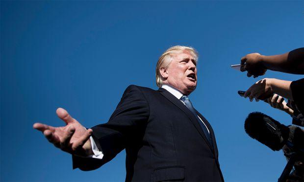 Auf der Überholspur: Donald Trump.
