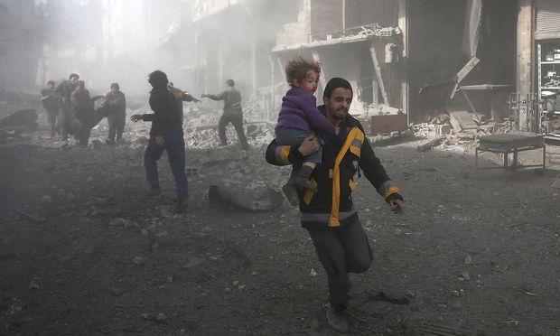 Aktivisten: 45 Tote bei neuen Angriffen auf syrische Rebellenhochburg Ost-Ghuta