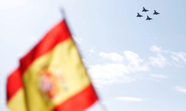 Spanien: Eurofighter