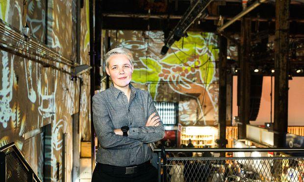 """Ein Tipp von Agnieszka Rojewska, hier beim Vienna Coffee Festival in der Ottakringer Brauerei: """"Kaufen Sie nie gemahlenen Kaffee!"""""""