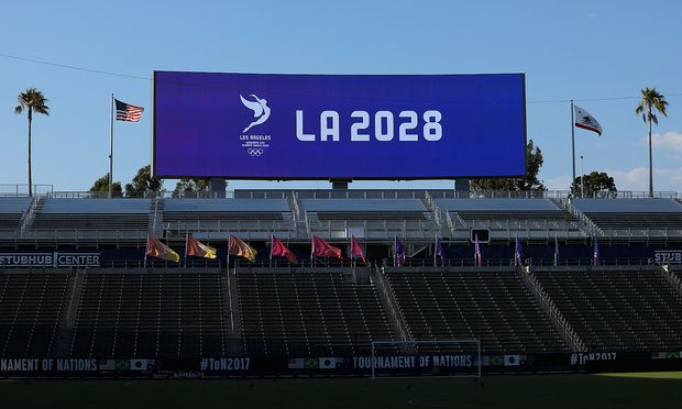 Los Angeles agreement to host 2028 Olympic Games