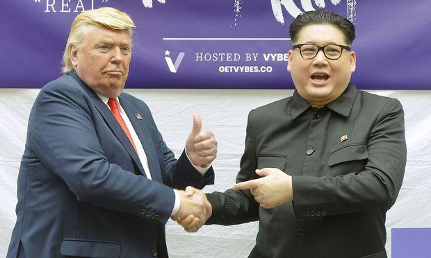 Double von Trump, Kim