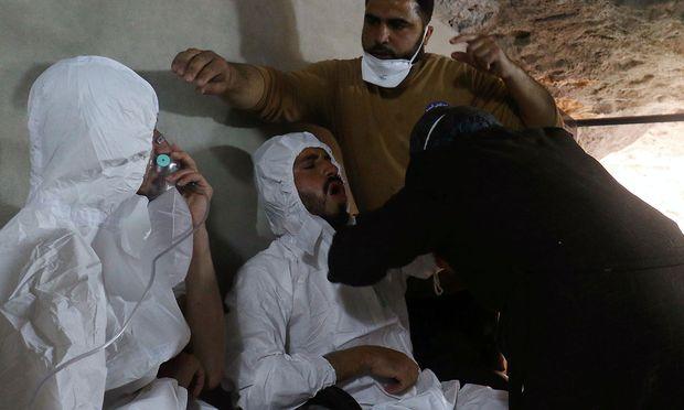 UN - Syrische Luftwaffe verübte Giftgasangriff in Chan Scheichun