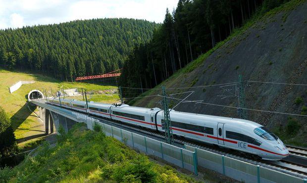 Auch der neue ICE 4 wird auf der Strecke zwischen Berlin und München im Einsatz sein.