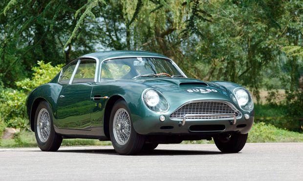 Vor Bond. Englischer Racer mit den höchsten Stilnoten: Aston Martin DB4 GT Zagato, 1960.