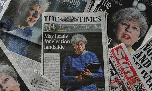 Theresa May überraschte mit ihren Neuwahl-Plänen.