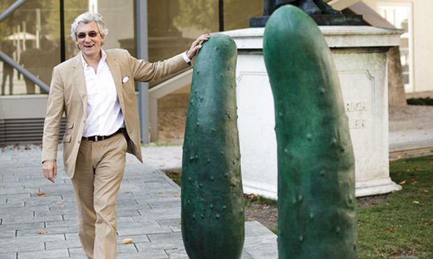Kunst Gurken fuer Salzburg