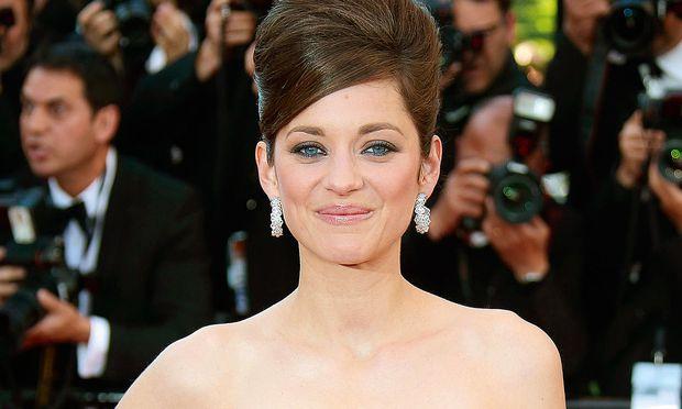 Eyecatcher Marion  Cotillard trug in Cannes Chopard.
