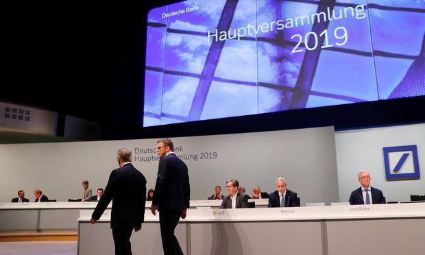 Unter Kritik: Aufsichtsratschef Paul Achleitner und CEO Christian Sewing.