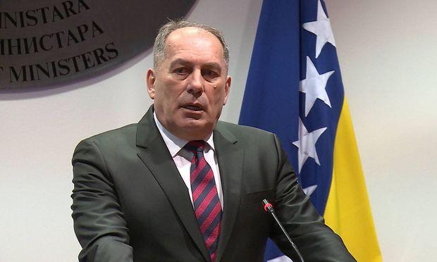 Bosniens Sicherheitsminister Dragan Mektić