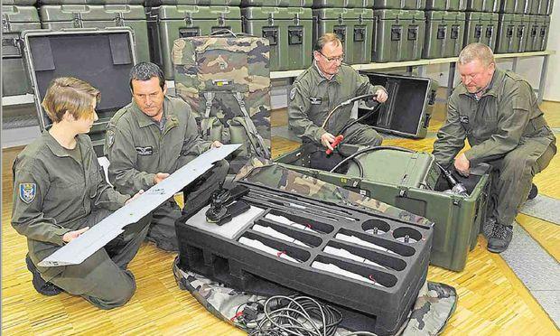 Drohnensystem Trackers