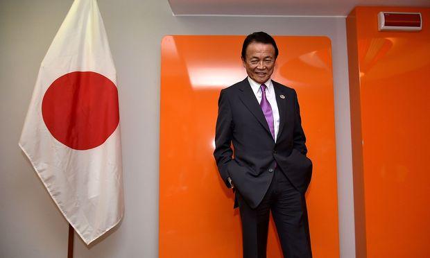 Japans Finanzminister Taro Aso.