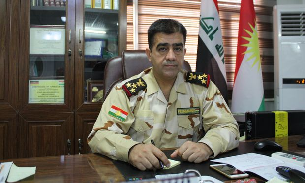 Peshmerga-Brigadier Hazhar Ismail
