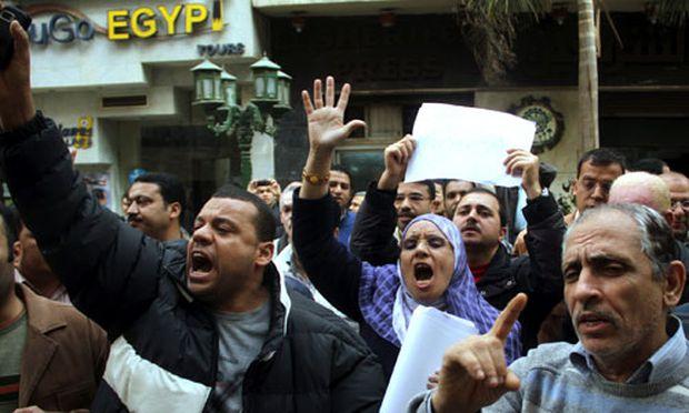 aegypten InternetAktivisten planen Grossdemo / Bild: Ahmed Ali
