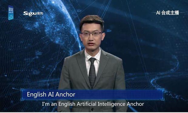 Künstliche Intelligenz: Nachrichtensprecher vom Computer erstellt
